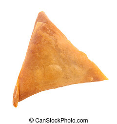 Samosa snack - Samosa the popular snack in Asia, Asian food...