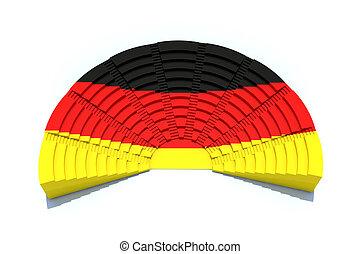 german parliament concepts - 3d concept german parliament...