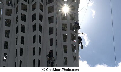 Industrial Climbers - Climbers carry inspection and repair...