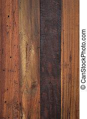 madeira, Marrom, textura, fundo