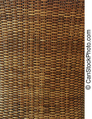 wicker texture background, traditional handicraft weave