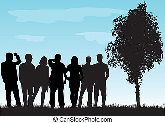 Group of people