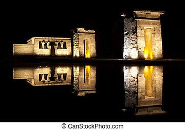 Temple of Debod, Madrid - Temple of Debod in Madrid, was...