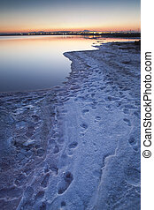 Torrevieja Saltworks - Great sunset in the Torreviejas...