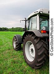 nuevo, tractor