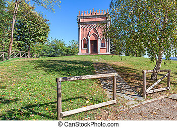 Small rural chapel in Italy.