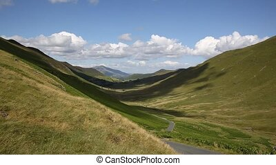 Valley between Buttermere and Keswick - Valley between...
