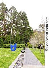 De Young Museum, San Francisco - The Corridor pin, blue a...