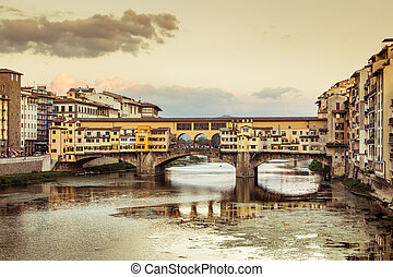 Ponte Vecchio - View of Ponte Vecchio in the afternoon....