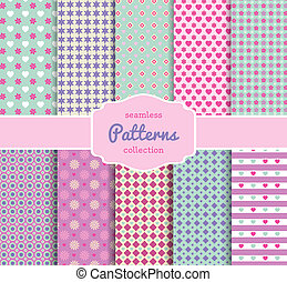 Floral Pattern Paper Collection for Scrapbooking - Various...