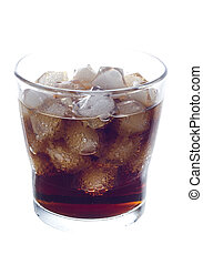 cold coke drink