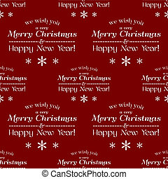 Vector seamless tiling pattern, christmas background