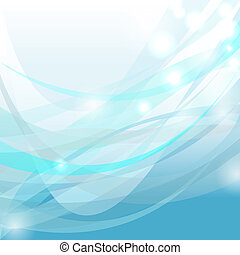 Abstract blue tone background - Abstract wavy background in...