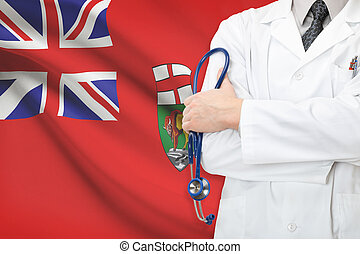Concept of Canadian national healthcare system - Manitoba...