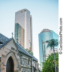 Brisbane skyscrapers - Queensland, Australia