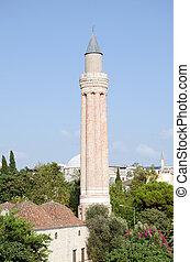 Yivli Minaret, Antalya