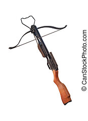 Crossbow isolated under the white background