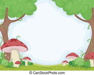 cogumelo, fundo