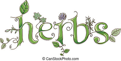 Herbs Lettering