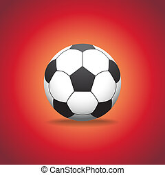 Soccer ball, realistic illustration