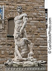 Statue of Hercules and Cacus, Flore - Florence