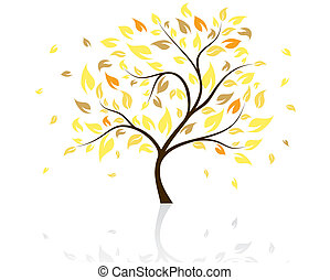 tree - Beautiful tree Vector illustration