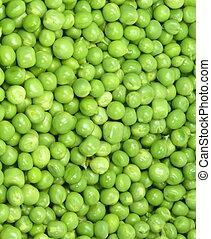 Macro peas - healthy peas