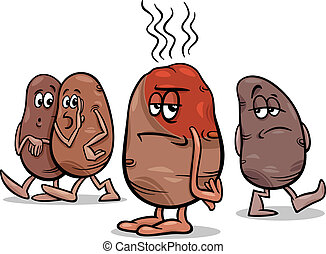 hot potato saying cartoon - Cartoon Humor Concept...