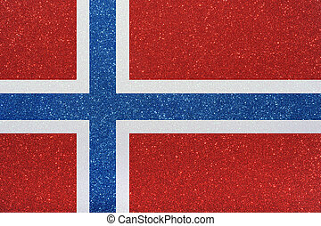 ensign norway - the ensign of norway made of twinkling...