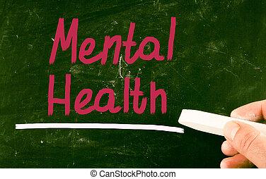 conceito, saúde,  mental