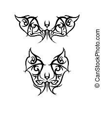 Tattoo Bet Design Vector Art