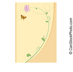 Baby Shower Card Design Vector Art
