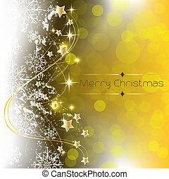 Christmas background decoration - Christmas greeting card...
