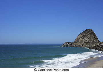 Beach at Point Mugu, SoCal - Sandy beach near Point Mugu...