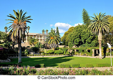 Parliament building, Windhoek, Namibia - View of the...