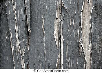 distressed paint on wood
