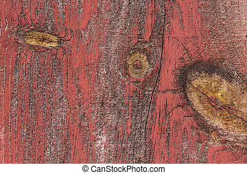 red painted woodboard texture