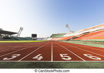 atletismo, pista