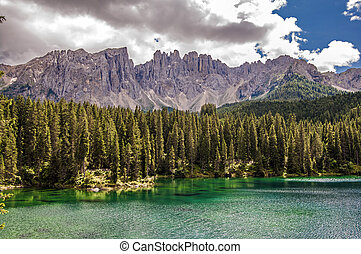 karer see,Carezza,Italy - Latemar,south tyrol,Italy