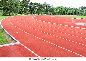 Yard run - Empty yard run