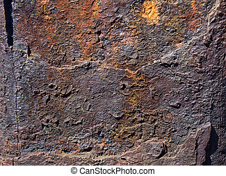 hard rock texture surface