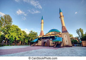 Mosque in Donetsk, Ukraine.