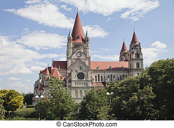 Church of Francis of Assisi in Vienna, Austrian capital
