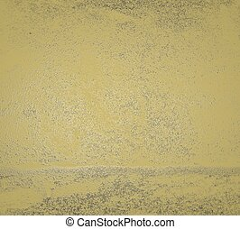 Yellow wall background. yellow texture