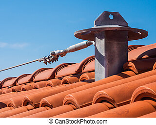 Roof fall protection system - Roof anchor - Fall arrest...