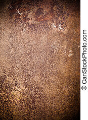 Oxidated metal surface making an abstract background, high...