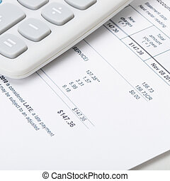 Calculator over utility bill - 1 to 1 ratio