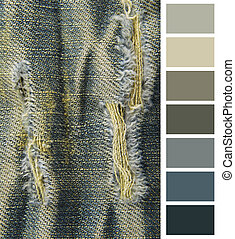 color chart selection for interior