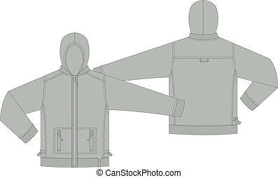 Mens sportswear Jacket