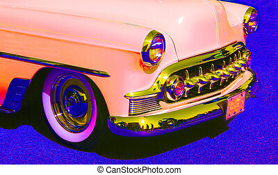 Classic Car - Abstract Car Background